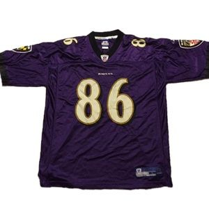Reebok Baltimore Ravens Todd Heap Jersey